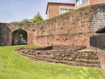 Chester Town Wall UK Royalty Free Stock Image