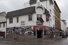 Founded in 1988, the St Pauli Museum, Hamburg Royalty Free Stock Image
