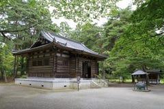 Founder зала ` s виска Motsu в Hiraizumi стоковые изображения