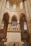 Founder's Chapel of Batalha monastery Stock Image
