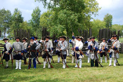 Founder's Day in Ogdensburg, New York State Royalty Free Stock Photo