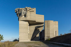 Founders of the Bulgarian State Monument near Town of Shumen, Bulgaria Royalty Free Stock Photo