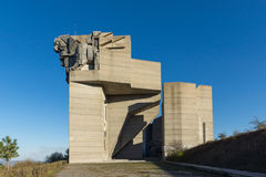 Founders of the Bulgarian State Monument near Town of Shumen, Bulgaria Stock Photography