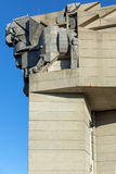 Founders of the Bulgarian State Monument near Town of Shumen, Bulgaria Stock Photos
