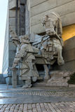 Founders of the Bulgarian State Monument near Town of Shumen, Bulgaria Stock Images