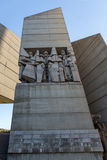 Founders of the Bulgarian State Monument near Town of Shumen, Bulgaria Royalty Free Stock Image