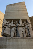 Founders of the Bulgarian State Monument near Town of Shumen, Bulgaria Stock Image