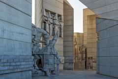 Founders of the Bulgarian State Monument near Town of Shumen, Bulgaria Royalty Free Stock Images