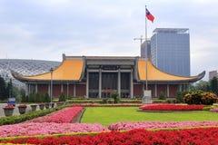 Founding father sun yat-sen memorial hall at taipei city Royalty Free Stock Photos