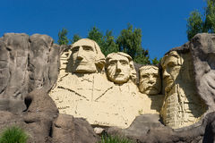 The founding fathers in LEGO Bricks Stock Photo