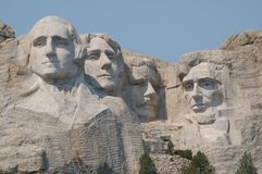 Founding fathers. In Mount Rushmore National Memorial, Keystone South Dakota – August 26, 2012 stock photography