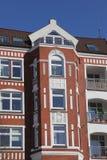 Founding period townhouse. In Kiel, Germany royalty free stock photo