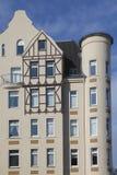 Founding period townhouse. In Kiel, Germany stock photo