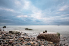 Foundlings on shore of the Baltic Sea Royalty Free Stock Photography