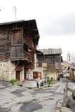 Fountain在村庄圣徒Véran,法国的de ChA¢telett 库存图片