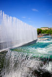 Fountain. In the urban area Royalty Free Stock Photo