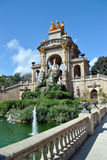 Fountain. In Parc De la Ciutadella in Barcelona, Spain Royalty Free Stock Image