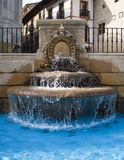 Fountain. Of stone in the city Stock Photography