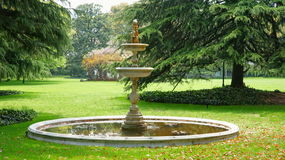 Fountain. This fountain in a park.It's a very beautiful view Royalty Free Stock Photo