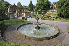 Fountain. In a park in Blackburn Royalty Free Stock Images