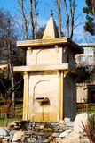 Fountain. A photograph taken of a water fountain Royalty Free Stock Photography