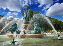 Fountain. Royalty Free Stock Photo