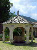 Fountain. In Koski Mehmed Pascha Mosque in Mostar royalty free stock photos