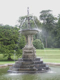 Fountain. Water Fountain in Park stock photo