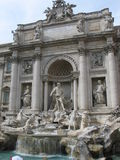 Fountain. Di Trevii fountain in Rome Royalty Free Stock Photos