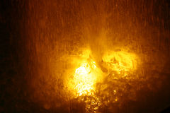 Fountain. With a lava look Royalty Free Stock Photography