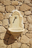 Fountain. An old dry fountain in Aegina, Greece stock photography