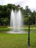 Fountain. Located in Crystal Palace gardens - Petropolis - Rio de janeiro royalty free stock photo