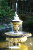 Fountain. A fountain in the park on a sunny day Royalty Free Stock Photos