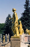 Fountain. In Petrodvorets (Petergof), St Petersburg, Russia royalty free stock photo