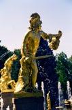 Fountain. In Petrodvorets (Petergof), St Petersburg, Russia royalty free stock image