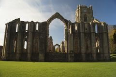 Fountain Abbey stock images