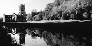 Fountain Abbey Royalty Free Stock Photography