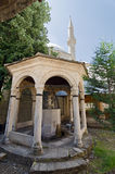 Fountain for Ablutions. In the central mosque of Mostar and Herzegovina Stock Photos