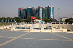 Fountain in Abu Dhabi Royalty Free Stock Photography