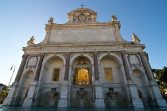 Fountain of Acqua Paola. (Rome, Italy Royalty Free Stock Images