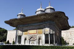 Fountain of Ahmed III. In front of the Topkapi Palace,Istanbul,Turkey Stock Images