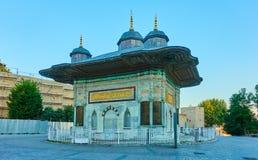 Fountain of Ahmed III. The Fountain of Ahmed III in Istanbul, Turkey stock photo