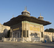 Fountain of Ahmed III, Istanbul Stock Photo