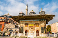 Fountain of Ahmed III Royalty Free Stock Images