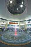 Fountain in the Airport Stock Photography