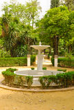 Fountain Alcazar gardens Royalty Free Stock Images