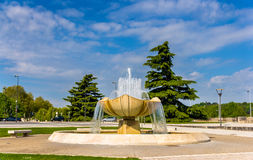 Fountain Anatole France in Tours Royalty Free Stock Photos