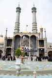 Fountain anbd mosque Royalty Free Stock Photography