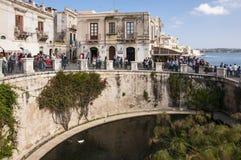 The Fountain of Arethusa Stock Photo