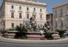 Fountain of Artemis Stock Photos